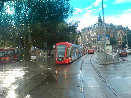 """""""Historische"""" Straßenbahn"""