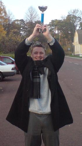 Strahlender Sieger: Andreas