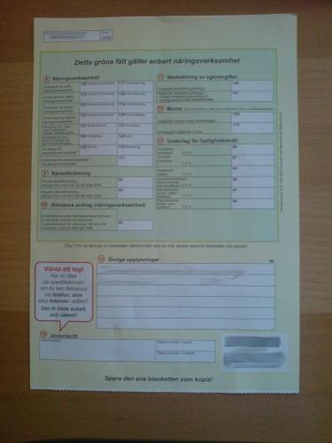 Steuererklärung 2
