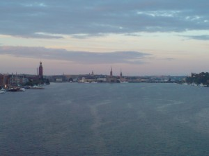 Västerbron Skyline Stockholm