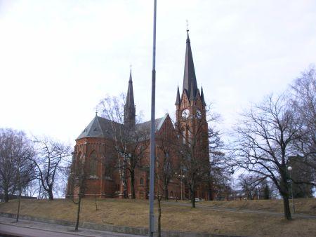 Gustav-Adolfs-Kirche in Sundsvall