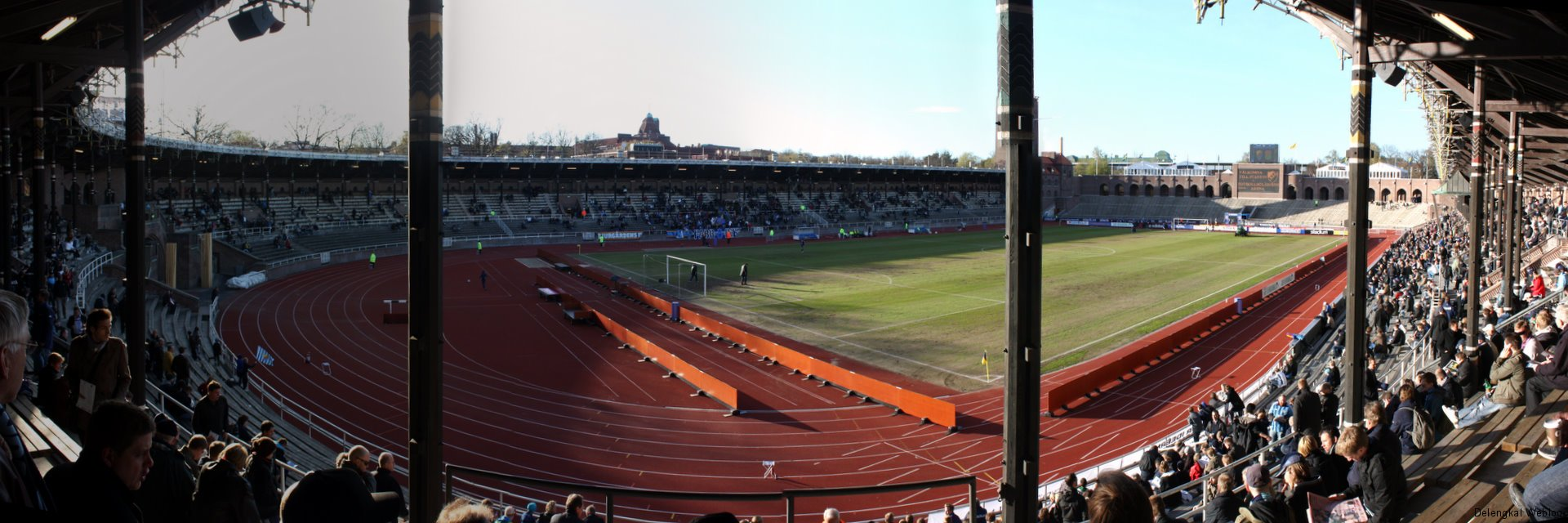 Panorama des Stadions