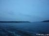 Blick von Vaxholm weg auf Badholmen und Tynningö