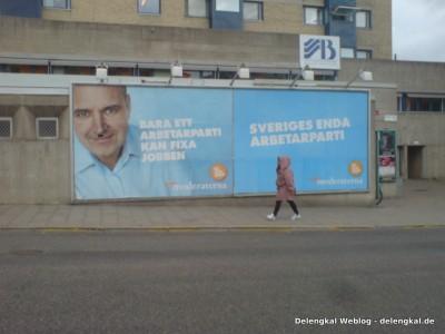 Nur eine Arbeiterpartei kann Jobs besorgen - Schwedens einzige Arbeiterpartei