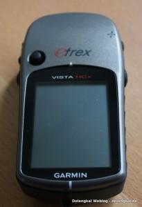 Garmin eTrex Vista HCx - mein neues GPS-Spielzeug