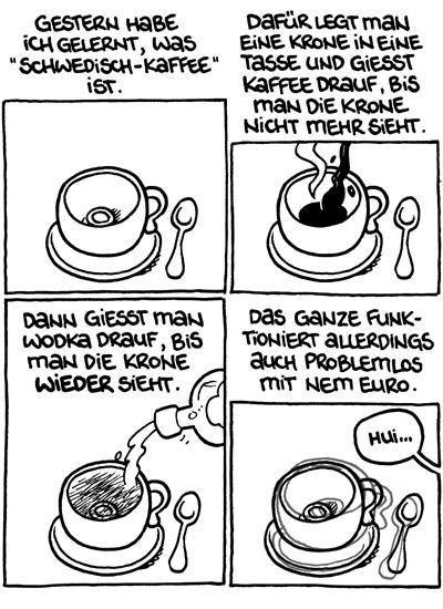 Schwedisch Kaffee (Copyright: Flix, www.der-flix.de)